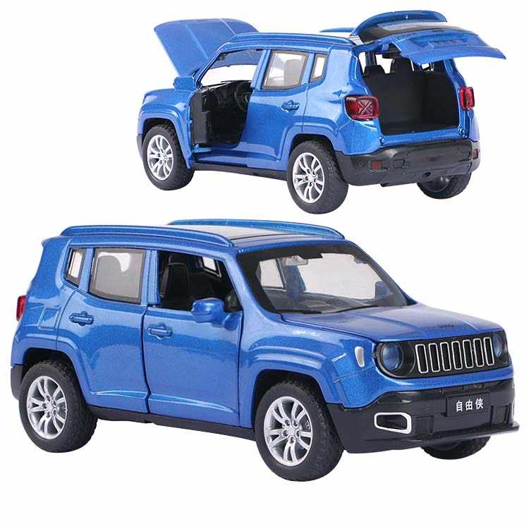 1:32 Jeep Renegad Metal Toy Alloy Car Diecast Toy Vehicles Car Model Miniature Scale Model Car Toy For Kids Free Shipping