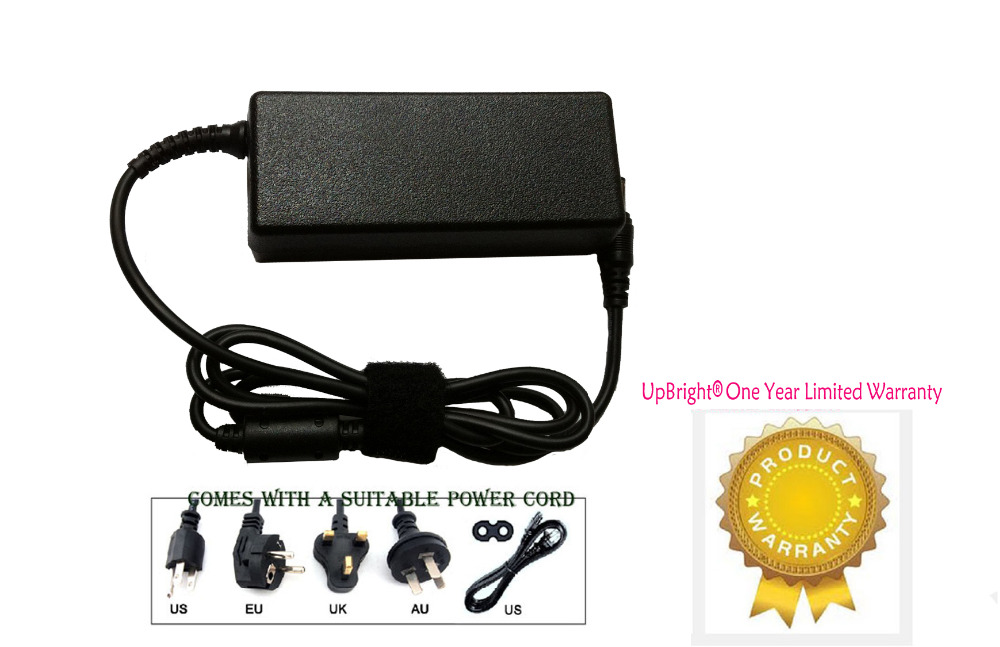 AC//DC Adapter for LG 32MP58 32MP58HQ 32MP58HQ-P 32MP58HQP 32 Screen LED-Lit Monitor Power Supply Cord Cable PS Charger Mains PSU