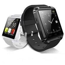 2016 heißer smart watch bluetooth u8 uhr smartwatch wrisbrand mit ios android handy smart armband höhenmesser anti-verlorene