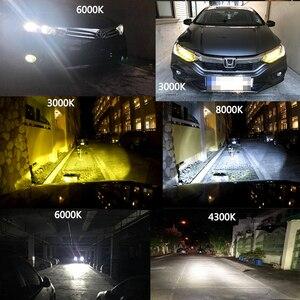 Image 3 - YAMYFF Car Headlight H4 LED H7 LED H11 LED Bulbs 3000K 6000K 8000K 9000LM H1 H3 9005 9006 H27 4300K Bulb Auto Fog Light Lamp 12V