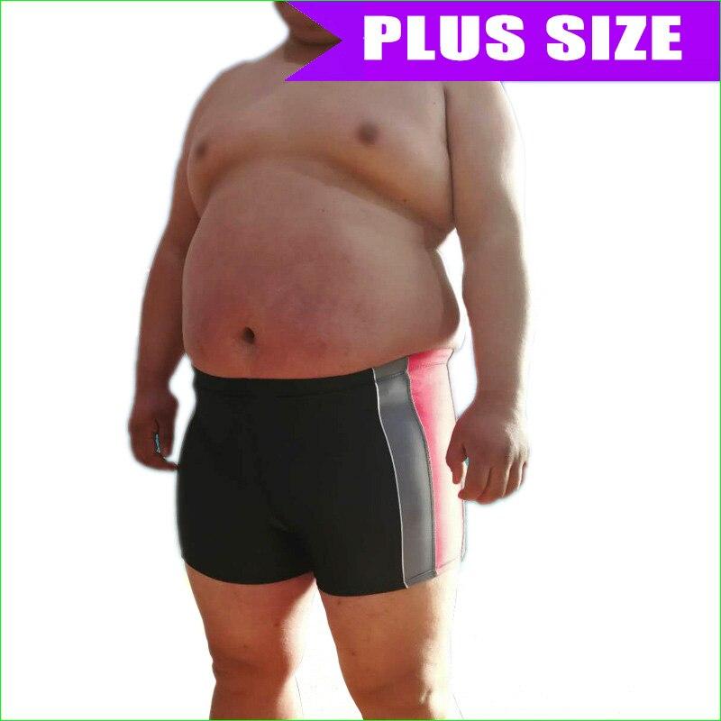 Plus Size Man Swim Shorts Men's Surf Board Beach Bath Wear 6XL Swimming Trunks