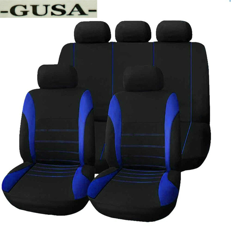 Car Seat Cover For Vw Golf 4 5 VOLKSWAGEN Polo 6r 9n Passat B5 B6 B7 Tiguan Accessories Covers For Vehicle Seat