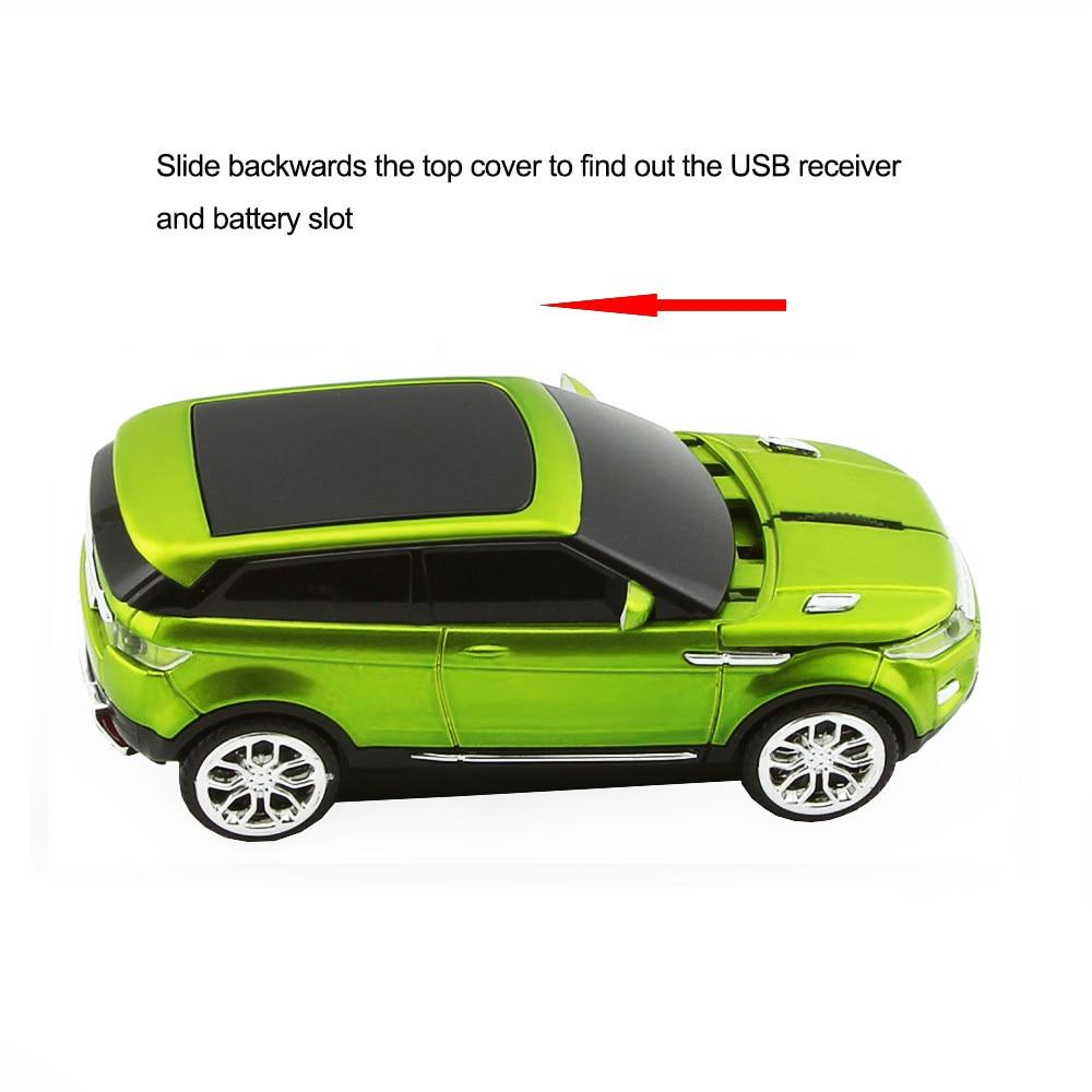 CHYI 2.4Ghz vezeték nélküli egér Gamer divat SUV sport autó - Számítógép-perifériák - Fénykép 3