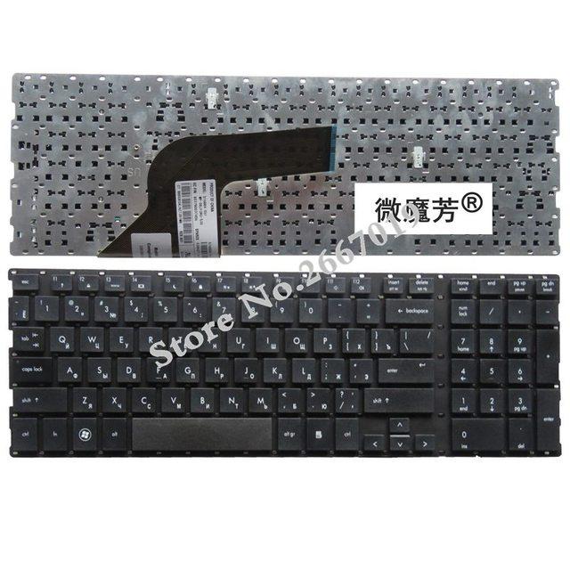RU 검정색 새 러시아어 hp ProBooK 4510s 4515s 4710 4710s 4750S 노트북 키보드