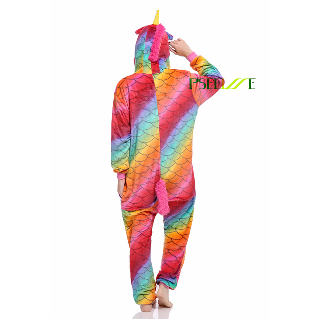Women Pajama Flannel panda Unicorn Cartoon Cosplay Adult Onesie For Adults Animal Pajamas Adult Unicorn Pajamas Winter Onesie