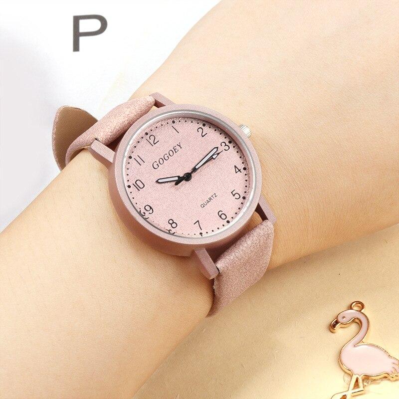 c6c86efe696a ④Top Brand Luxury Famous Watch Women Quartz Leather Strap Simple ...
