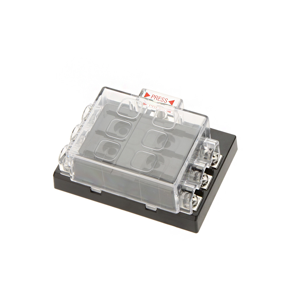Hot Sale 6 Way Circuit Car Fuse Box Holder 32V DC Waterproof Blade Fuse holder Block aliexpress com buy hot sale 6 way circuit car fuse box holder hot fuse box at mifinder.co