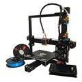 Auto nível dual extrusora E3D EI3 grande 200*280*200 kit de impressora reprap prusa i3 3d-multi material de apoio filamento