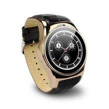 AUF LAGER! Mode Smartwatch Unterstützung Pulsmesser Uhr Sim-karte Smartwatch Wasserdichte Touchscreen Sport Tester Passometer