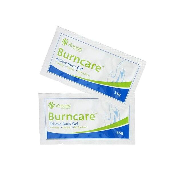 Gel cho Burns 3.5 gam/gói Kit Viện Trợ Đầu Tiên Phụ Kiện Pad Kit Viện Trợ Đầu Tiên Mặc Quần Áo Làm Mát, nhẹ nhàng Ghi Kem Bỏng Nước Chăm Sóc Vết Thương