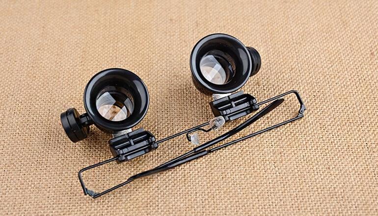 20X Professional kellaparandusluup koos LED-tuledega, valgustava - Mõõtevahendid - Foto 4
