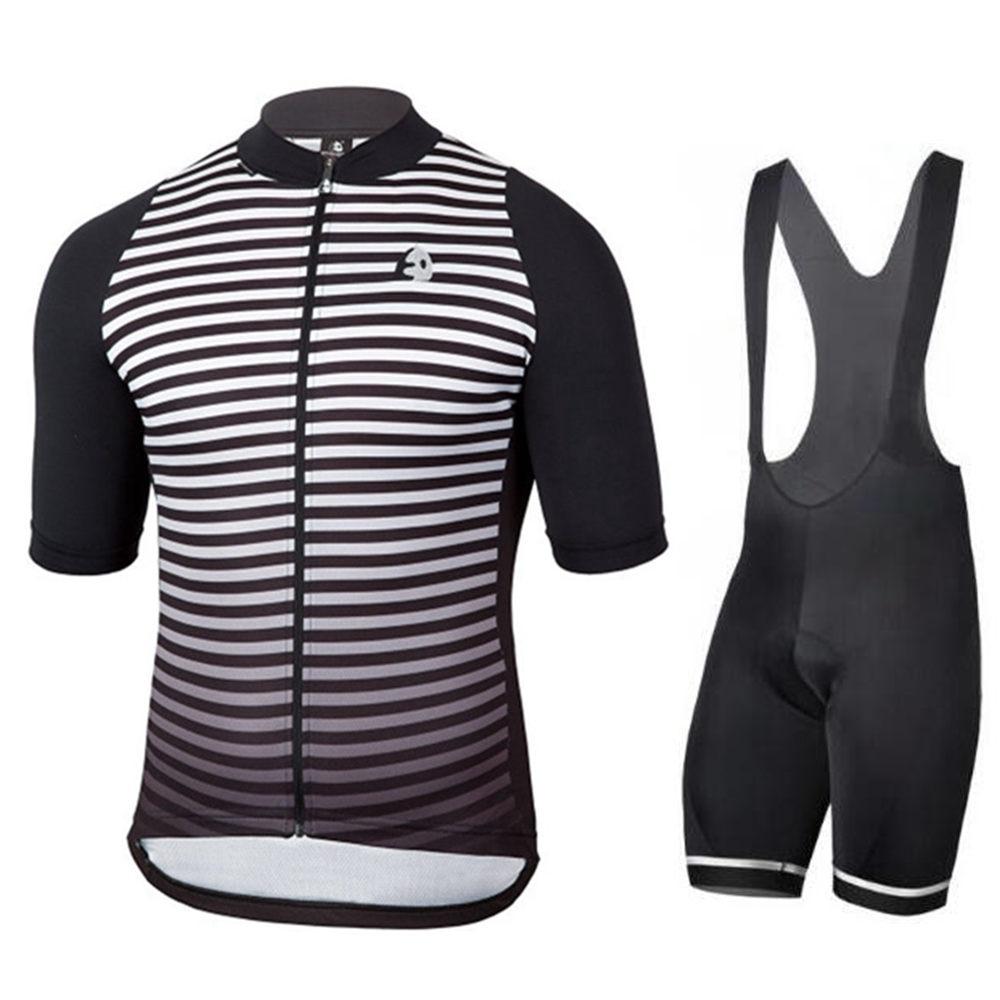 2018 Men Summer Short Sleeve Bike Bib Shorts Cycling Jersey Bicycle  Triathlon Shirt Wear Clothes Mountain Cycle Uniform 9D Pad 38121f05f