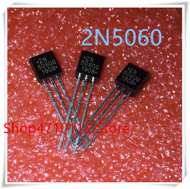 NEW 10PCS/LOT 2N5060G 2N5060 0.8A 30V 2N 5060 TO-92 IC