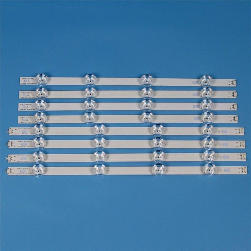 8 Piece / Set TV Backlight Strip For LG 42LF6200 42LF620V 42 LED Strips Kit Bars 42LF620V-ZB Lamps Light Bands