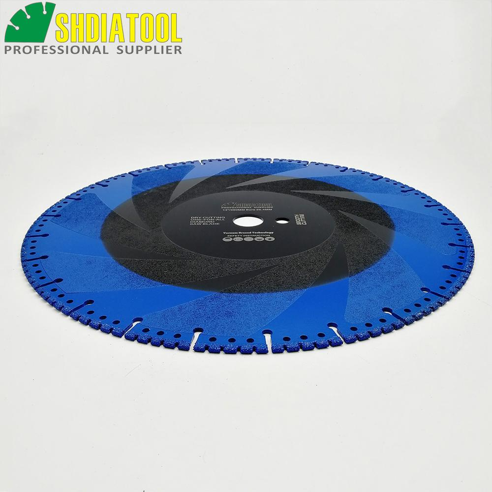 DT DIATOOL 2pcs 350mm/14 Vacuum Brazed Diamond Cutting Disc one for all Blade Rescue Saw Blade Cast Iron rebar Steel Pipe Stone - 4