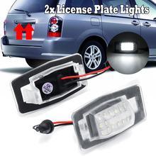 2 шт. 18 светодиодный светильник для номерного знака без ошибок светодиодные лампы для номерного знака Mercury Mariner для Mazda Miata MX-5 MPV для Protege5