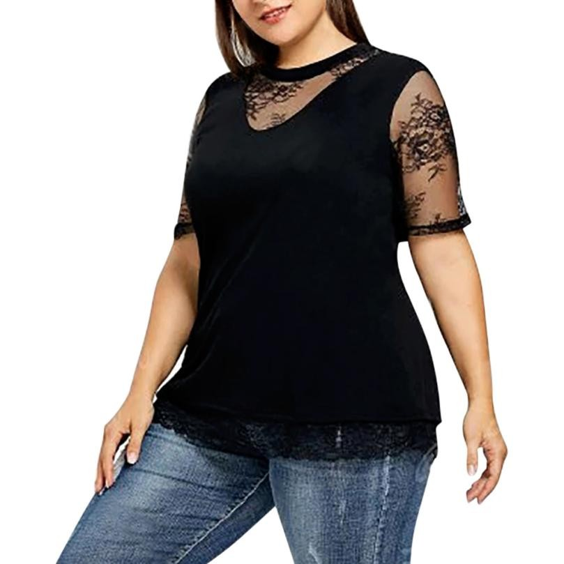 Aliexpresscom  Buy Summer Womens Black Tops And Blouses -4754