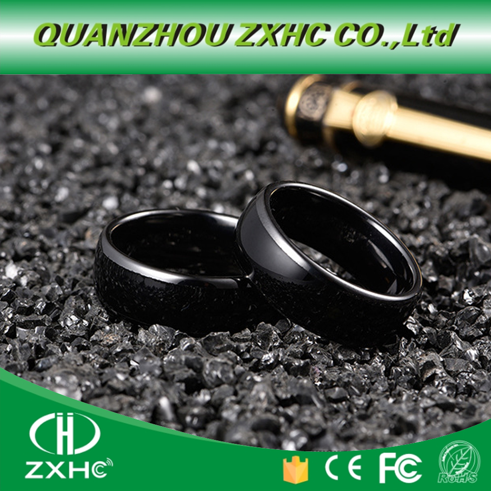 125KHZ Or 13.56MHZ RFID Ceramics Smart Finger B Ring Wear For Men Or Women