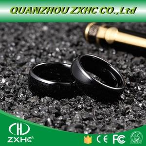 Image 1 - 125KHZ or 13.56MHZ RFID Ceramics Smart Finger B Ring Wear for Men or Women