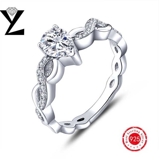 2016 Factory Price Huge Marquise Stone 925 Silver Rings Women Jewelry Anniversary Engagement Birthday Gift Party Wedding Ring