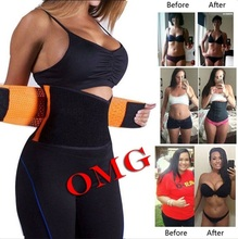 Trainer Cintura quente Shapers Do Corpo Da Cintura Cincher Tummy Trimmer Cintura Shaper Cinturão Slimming Belt para As Mulheres Nova Pós-parto Shapewear(China)