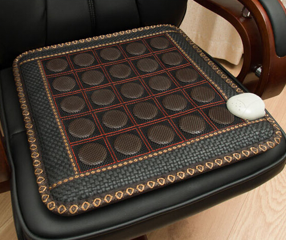 Фотография Healthy&Comfortable Thermal Jade Massage Seat Cushion heat and massage sofa cushion 45*45CM