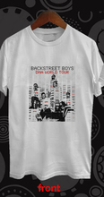 Backstreet Boys DNA World Tour Concert 2019 White T Shirt S-3XL New Short Sleeve Men T-shirt Top Tee Plus Size Harajuku