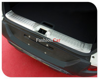 For Renault Kadjar 2015 2016 2017 Stainless Steel Rear Trunk Scuff Plate 1 Pcs Car Styling