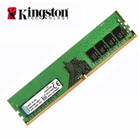 Kingston DDR4 RAM 8GB 4GB 2400Mhz Memoria ram ddr 4 Sticks PC4 2400 1.2V SDRAM 288Pin 1Rx8 CL17 Desktop PC gaming ddr4 16 gb
