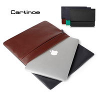 Slim Leather Laptop Sleeve Bag For MacBook Air Pro Retina 11 6 12 13 Notebook Case