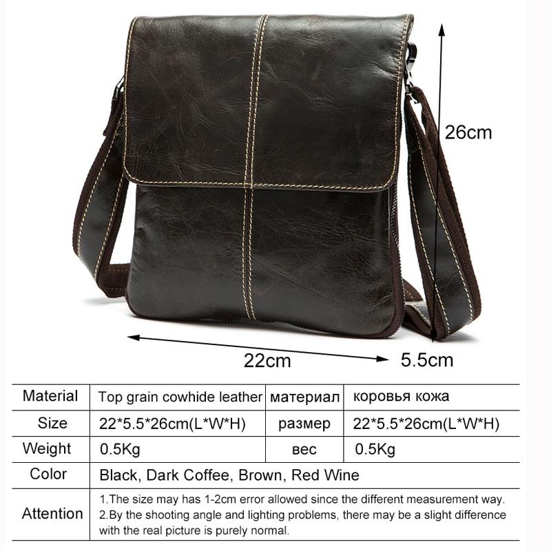 bolsa de couro masculina bolsa Item Width : 5.5 CM
