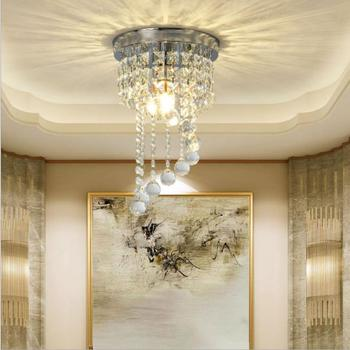 Modern Crystal Chandelier Light LED Lamp Lustre Chandeliers Lighting Hanging Ceiling Fixtures Pendant Luminaire For Living Room