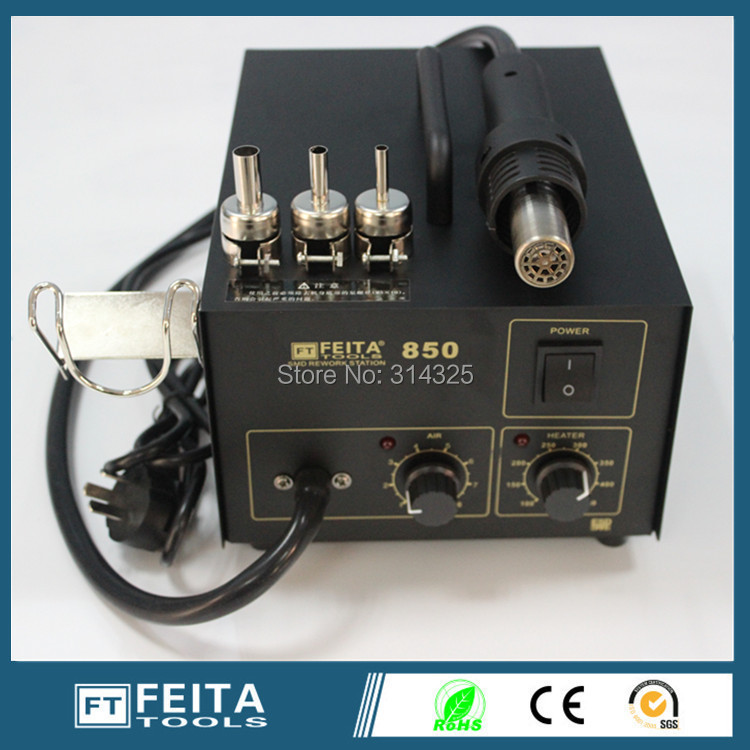 FEITA FT850 hot air gun Lead-Free SMD Rework Hot Air solderling repair Station.