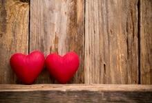 Laeacco Счастливый День святого Валентина любовь сердце деревянные доски стены сцены фотографический фон фотографии задний план для фотостудии