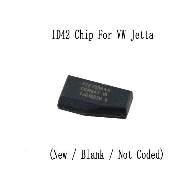 1 шт. удаленной машине ключ чипа ID42 для VW Jetta (новый/пустой/не цветом)