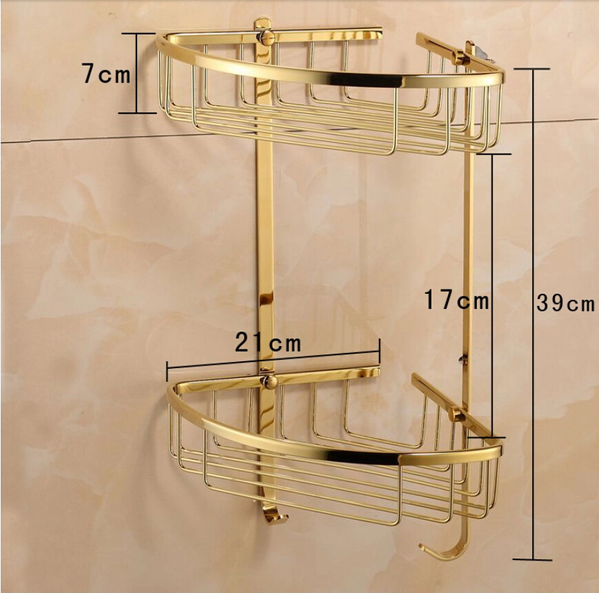 Free Shipping Becola Fashionable Br Double Layer Bathroom Accessories Rack 6705 In Shelves From Home Improvement On Aliexpress Alibaba