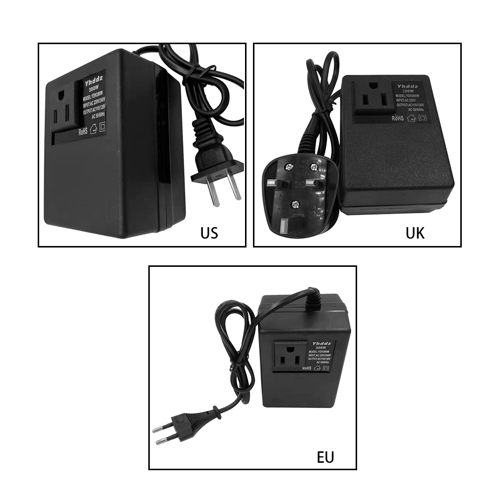 Efficient Transformer Household Travel Transformers Voltage Converter 220V To 110V 300w AC Step Down Transformer Power Adapter