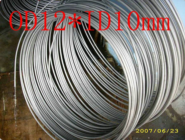 OD12mm*ID10mm,Stainless steel gas line pipe,stainless steel tube,stainless steel coil pipe