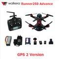 Walkera F16181 Runner 250 Avançar com 1080 P Câmera Racer RC Zangão Quadcopter RTF com DEVO 7/OSD/Câmera GPS 2 versão
