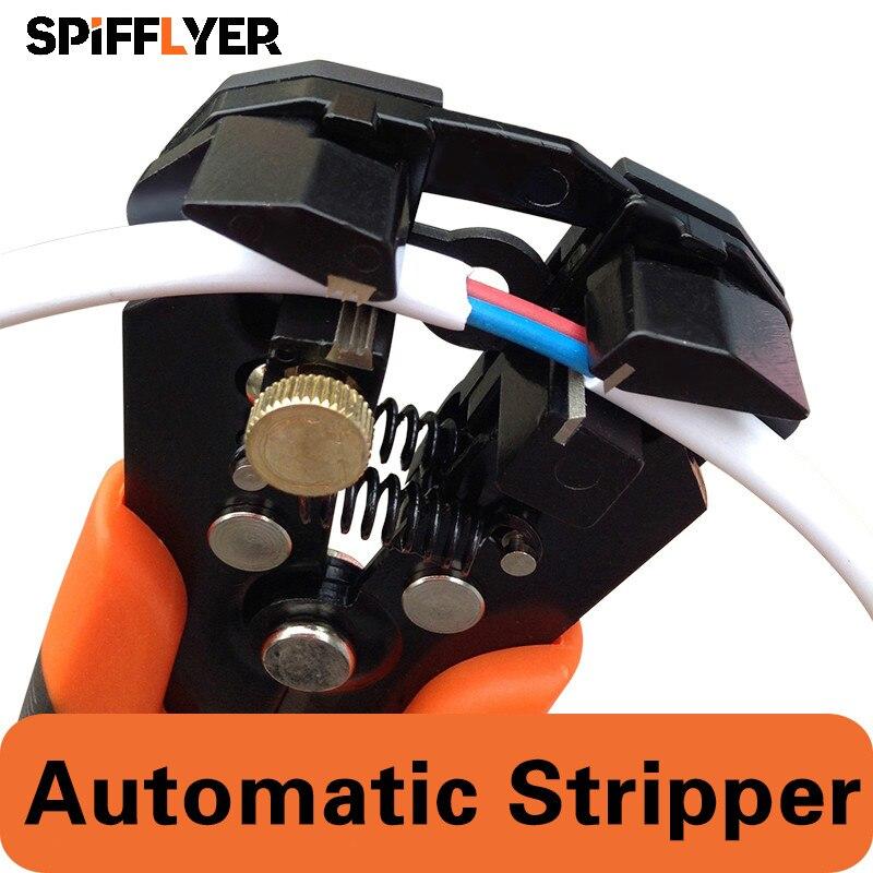 Orange Automatic Wire Stripper Stripping Wire Stripper Cutter Crimping Tool