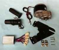 Comparar Motor de cepillo de engranajes MY1016Z2 250W 24V con controlador de Motor y acelerador de giro, Kit de bicicleta eléctrica DIY