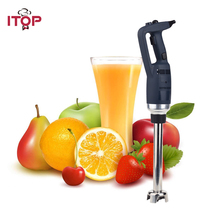 ITOP Hand Held Immersion Blender 500W Commercial Food Mixer Jam Maker Juicer Professional Heavy Duty Machine