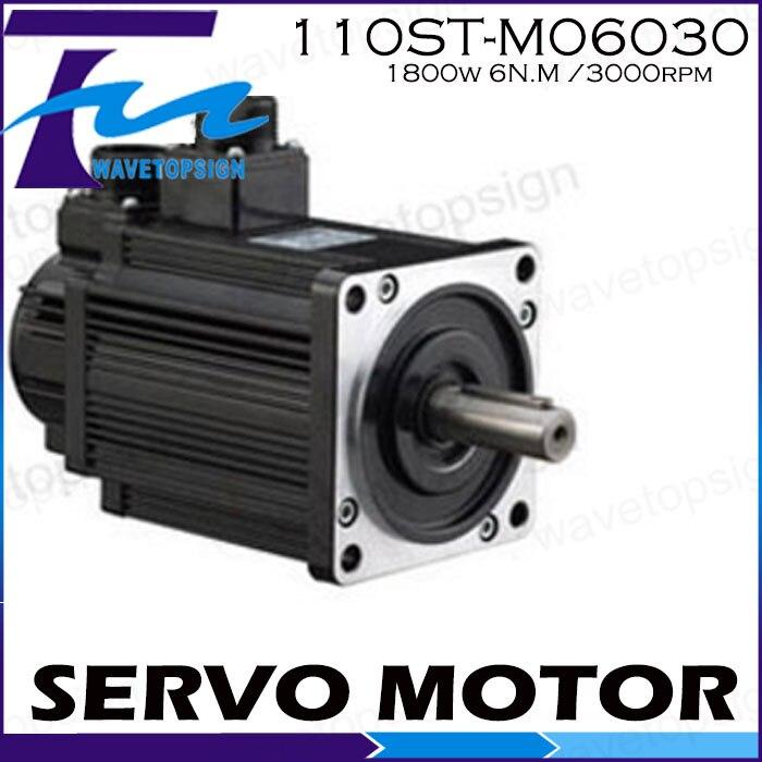 Servo motor 110ST-M06030/1800w 6N.M /3000rpm