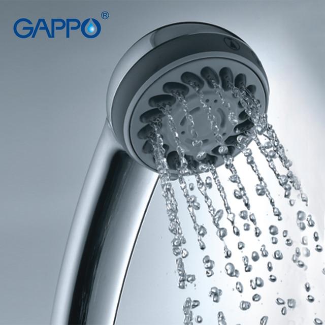 Gappo Top Quality Shower Head 3Way Round hand shower heads ...