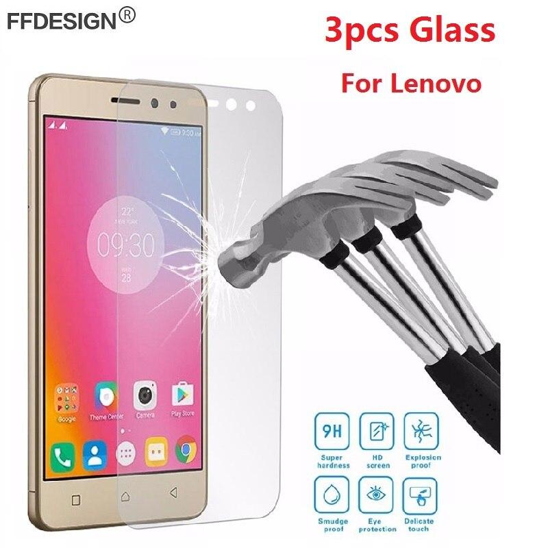 Защитное стекло для Lenovo Vibe Shot Z90 P2 P70 A536 A2010 A6010 A7010 K3 K5 K6 Note, 3 шт.