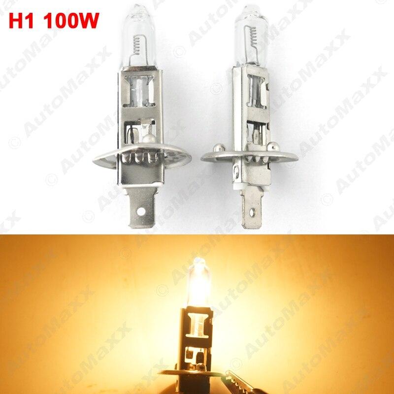 2PCS Warm White Auto DC 24V 70W/100W H1 Halogen Bulb Truck Bus Headlight Foglight Driving Lamp 3000K#J-1668 датчик lifan auto lifan 2