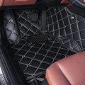Custom fit car floor mats for Peugeot 206 207 2008 301 307 308sw 3008 408 508 rcz car styling carpet floor liner