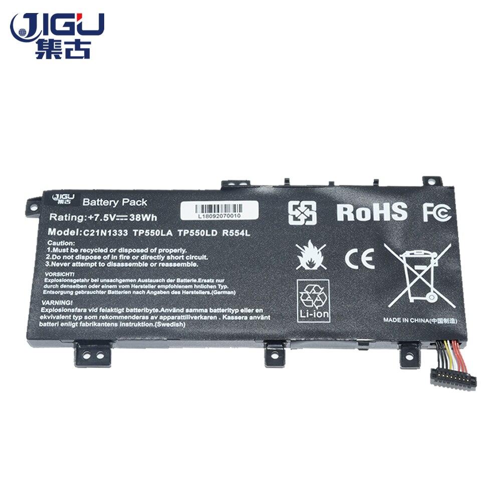 JIGU New Laptop Battery C21N1333 C21NI333 For Asus TP550L TP550LA TP550LD TP550LJ Transformer Book Flip tp550 X454