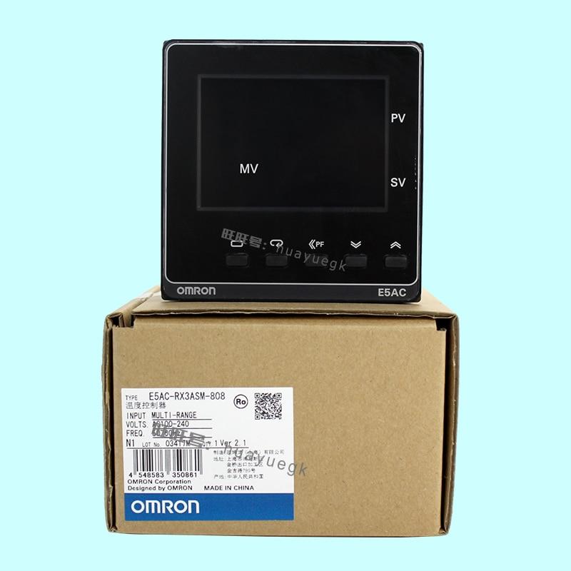 Original authentic OMRON electronic thermostat digital regulator E5AC-PR2ASM-800 804E5AC-CX3ASM-800 804 original authentic regulator arb250 00 a