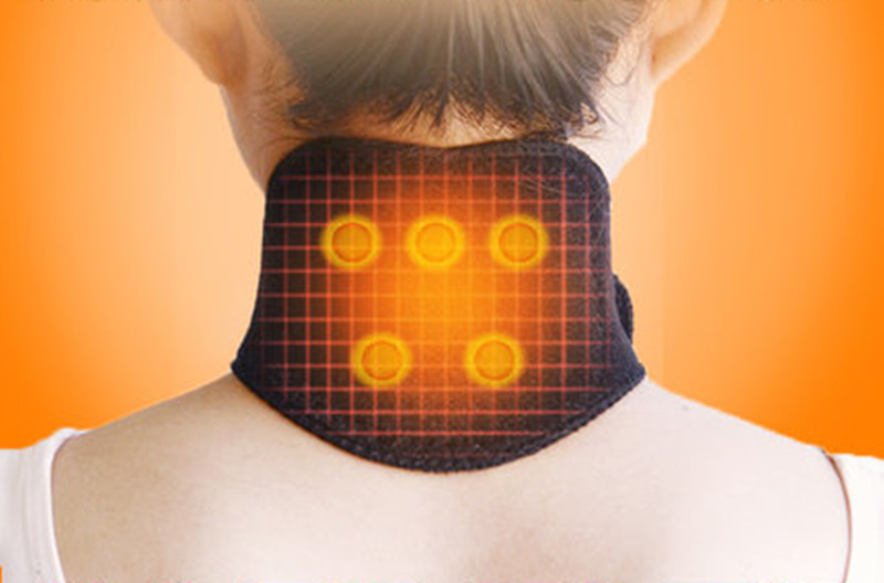 1pc Tourmaline Magnetic Therapy Thermal Self-heating Neck Pad Massager Belt Neck Cervical Vertebra Protection
